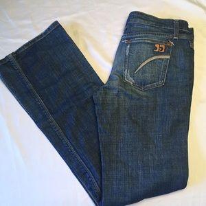 Joe's bootcut blue jeans 29 Jones wash