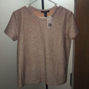 Peach gold colored Shirt