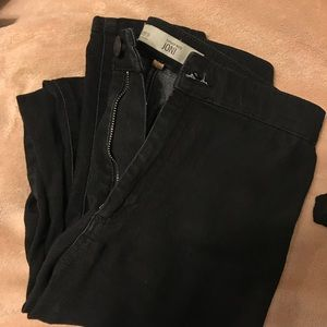 TOPSHOP HIGH WAISTED MOTO 'JONI' JEGGINGS