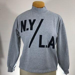 Forever 21 side zipper sweatshirt
