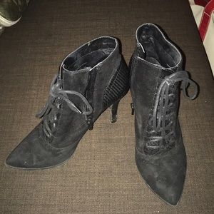 Mossimo high heel booties 8.5