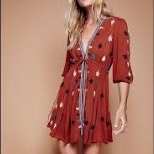 Free People Stargazer Mini Dress L