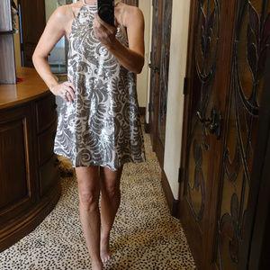 Show me your Mumu Sequin Halter Dress XS New