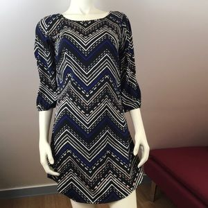 Fun & Flirt Tribal Print Dress M