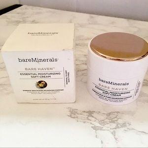Other - BAREMINERALS Bare Haven Essential Moisturize Cream