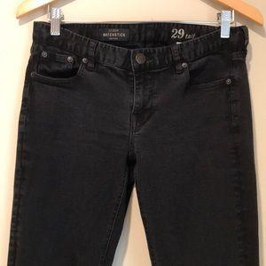 J.Crew Black Matchstick Jeans