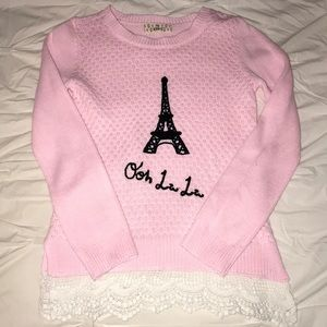 Other - Girls Paris sweater
