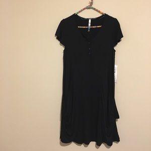 Kensie Black Loose Fitting Dress