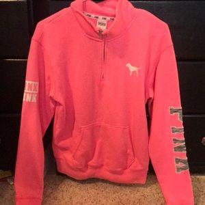 PINK Victorias Secret 3/4 zip