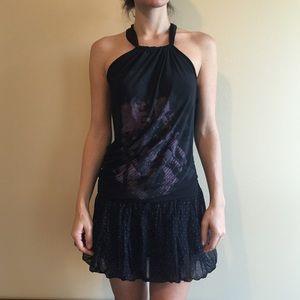 Legate unique black dress