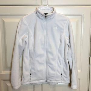 North Face White Osito Fleece Jacket Sz S LKNEW