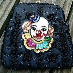 Rare Vintage Clown Clutch