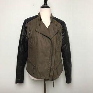 Blank NYC Moto Jacket. Size L