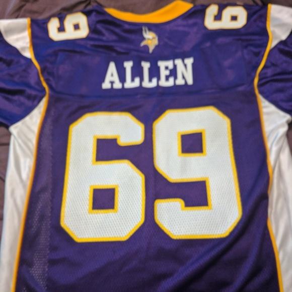 NFL Equipment Shirts | Mens Mn Vikings Jared Allen Jersey | Poshmark