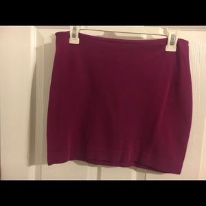 Express fuchsia Mini Skirt