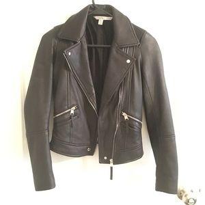 Zara Trafaluc leather jacket