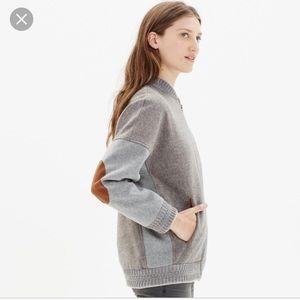 Madewell Sessun wool blend bomber