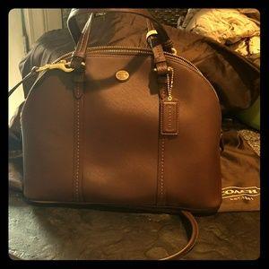 Authentic Coach Domed satchel