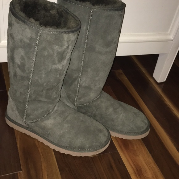 Classic Tall Army Green Ugg Boots