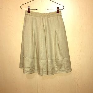 Banana Republic Linen Skirt
