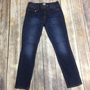 J Crew Dark Wash Skinny Jeans