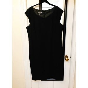 Black Suiting Dress