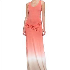 Young fabulous & broke orange Hamptons maxi dress