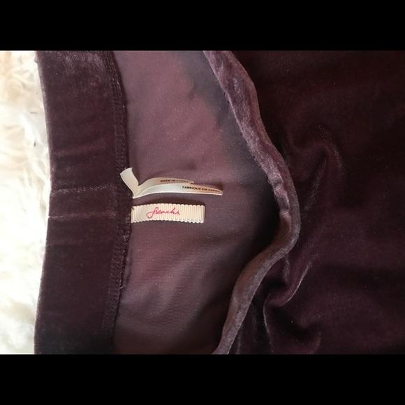 Trouve Skirts - TROUVÉ corset top/ purple velvet skirt BUNDLE