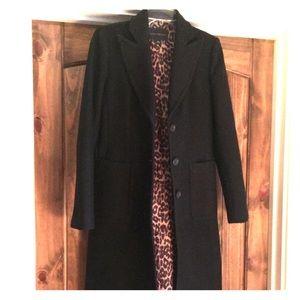 Long wool dress coat...