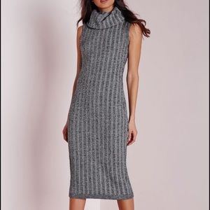 Missguided roll neck dress