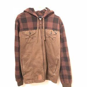 LRG Hooded Zip up Jacket