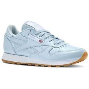 Light Blue Reebok Classic Sneakers