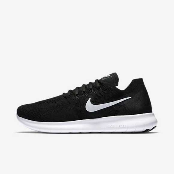 New Nike Black Sneakers Free RN Flyknit