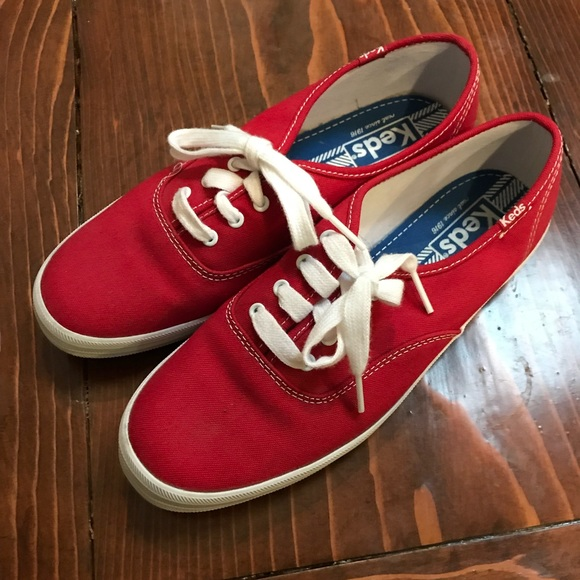 Keds Shoes | Womens Red Keds | Poshmark