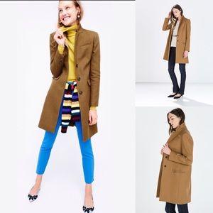 ZARA Camel Colored Wool Coat.