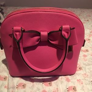 Pink Aldo purse