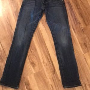 Women's Rich & skinny jeans size 23 button fly GUC