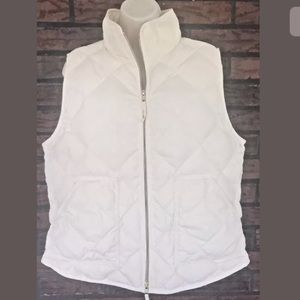 J Crew Excursion Quilted Puffer Vest Down Filled