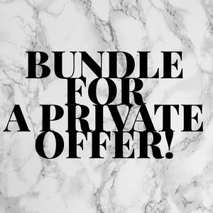 BUNDLE for a private offer