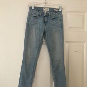 FRAME skinny jeans.