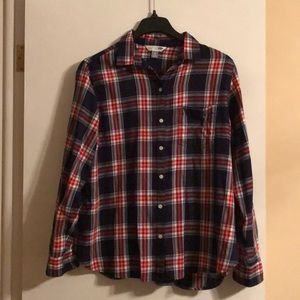 NWOT Old Navy plaid button down