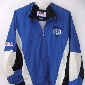 Colts NFL Pro Line by Champion XL Full Zip Jacket