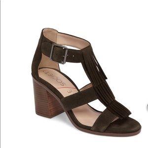 Sole Society Olive Fringe Sandal