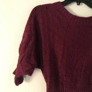 ⬇️SALE! ⬇️  Purple knit blouse