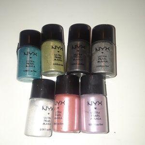 Nyx eyeshadow pigments
