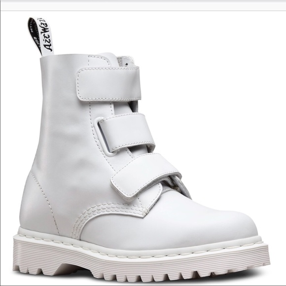 2f083c2816 Dr. Martens Shoes | White Doc Marten Coralias | Poshmark