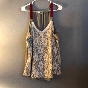 Maurice's lace blouse