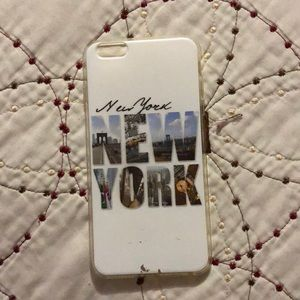 I phone 6S plus case bought from New York