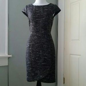 PIM + LARKIN Metallic Tweed Tulip Dress
