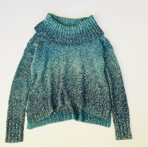 American Eagle outfitters Ombré cowl neck sweater